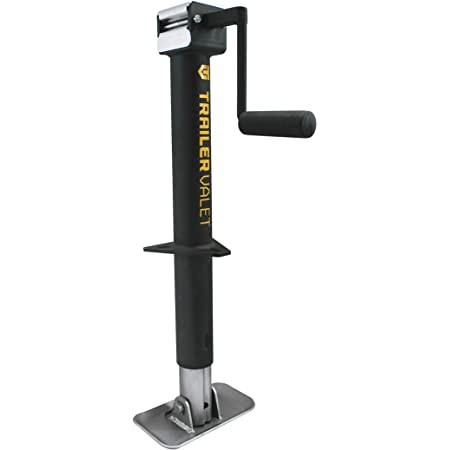 Includes Free Drill Attachment Drill Powered 5K Capacity JXC- Trailer Center Mount Tongue Jack