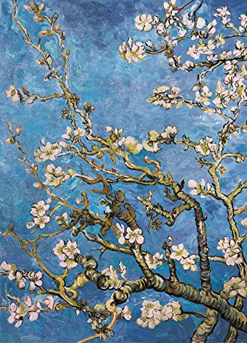 1art1 Vincent Van Gogh - Blühende Mandelbaumzweige, 1890, 2-Teilig Fototapete Poster-Tapete 250 x 180 cm