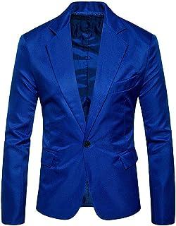 Men Jacket Men Blazer Business Casual Wedding Reception Party Long Sleeves Work Classic Basic Vacation Gentleman Men Blazer