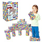 Deluxe Jumbo Cardboard Blocks 42-Pack Extra-Thick Cardboard Building Blocks Mini Whale Paper Brick Toy