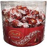 Caja con 96 Bombones Lindor Chocolate Leche. Lindt.