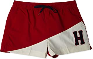 Tommy Hilfiger Men's Short Drawstring, Red (Tango Red 611), S