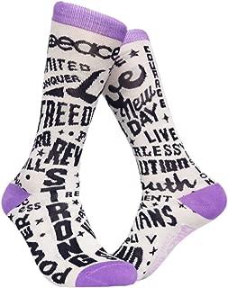 Girl Power Socks Womens Empowerment Footwear For Ladies