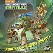 Rough-and-Tumble Turtles! (Teenage Mutant Ninja Turtles: Half-Shell Heroes) (Touch-and-Feel)