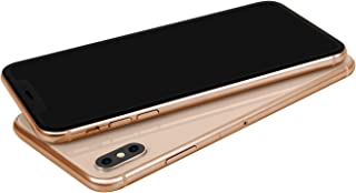 Non-Working Metallic Genuine Glass Replica Phone Dummy Display Phone for Phone X XS (XS Gold Black Screen)