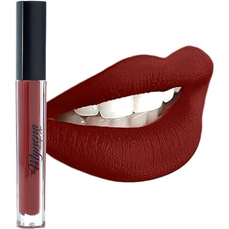 Mynena Red Waterproof Matte Liquid Lipstick - Elle