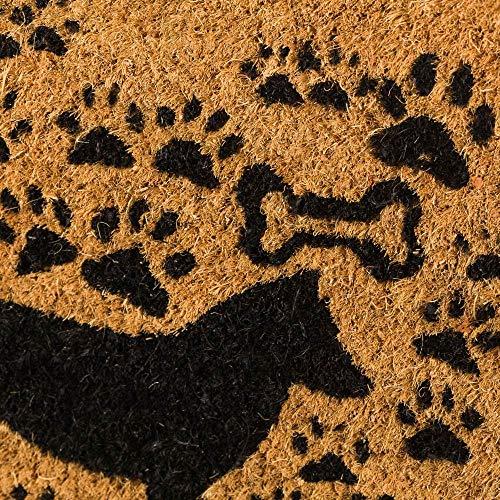 Felpudo de Perro de Fibra de Coco Natural de 40x60 cm - LOLAhome