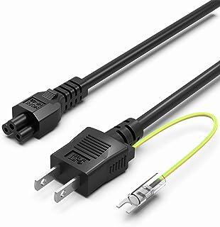 【PSE認証品/アース線付き】Superer 電源ケーブル 3ピン Intel NUC 用交換ACコード C5 Type ミッキーケーブル