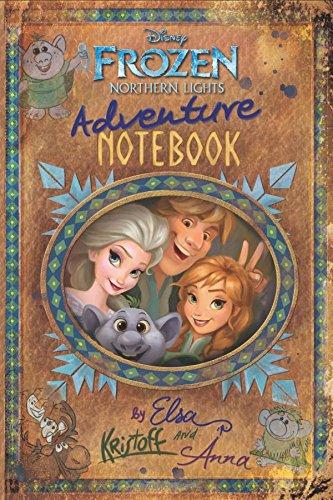 Frozen Northern Lights: Adventure Notebook