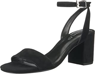 CHARLES BY CHARLES DAVID Womens CCD-Keenan Leather Open Toe, Black, Size 5.5