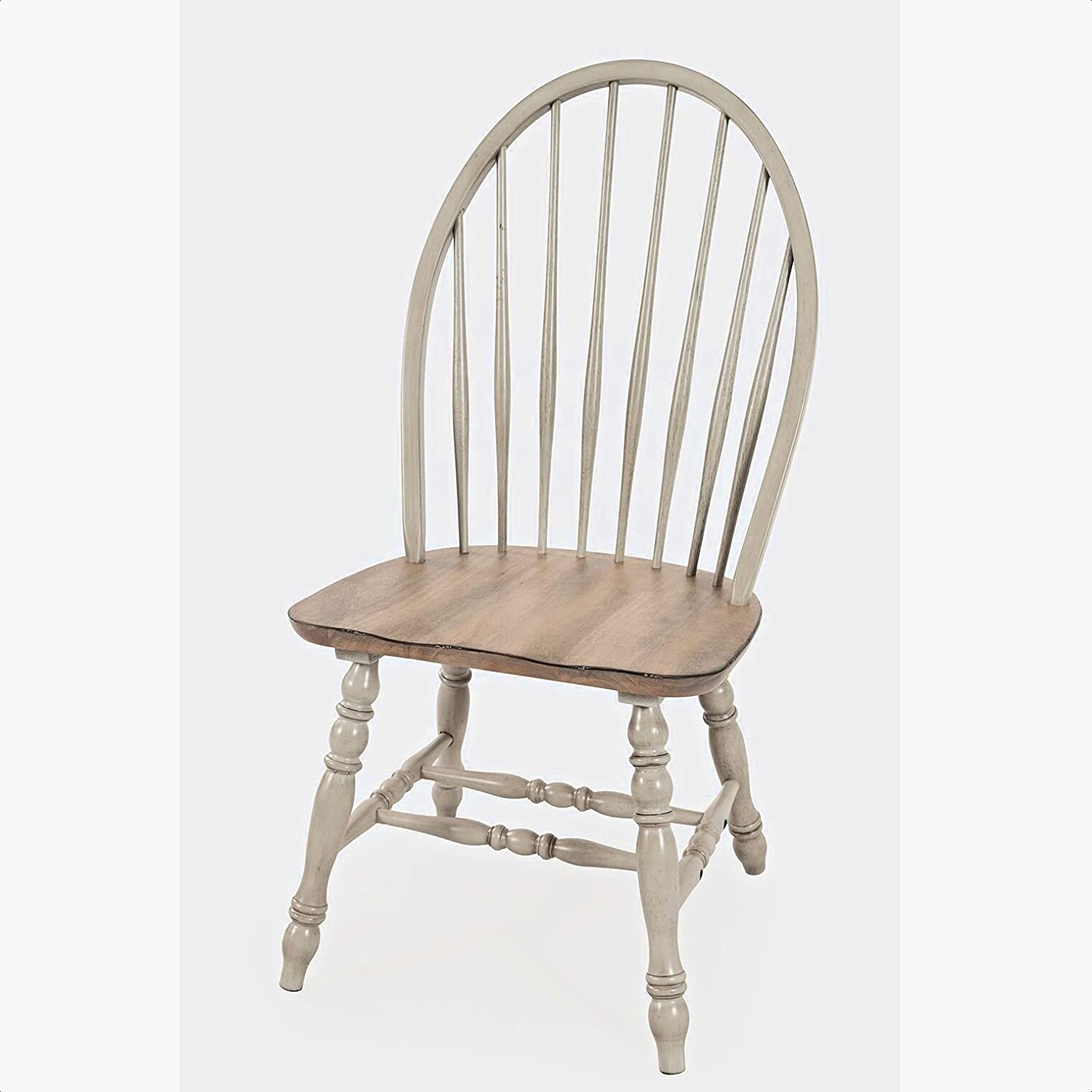 Ertac Solid Wood Finally popular brand Windsor Back Side Gray Overall: Chair in 40''' 2021 spring and summer new