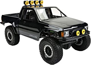 Proline 346600 1985 Toyota Hilux SR5 Clear Body (Cab & Bed) for SCX10 Trail Honcho
