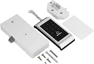 タッチボタンドアロック デジタルロック 電子錠 タッチパスワード鍵解錠可能 暗証番号 セキュリティ 自宅 オフィス 工場 事務所 マンション(シルバー)