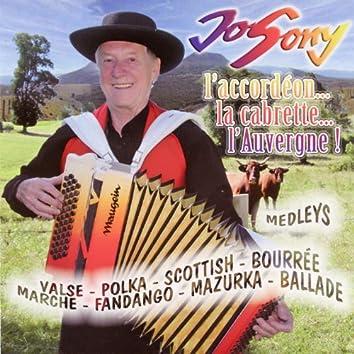L'accordéon, la cabrette, l'Auvergne !
