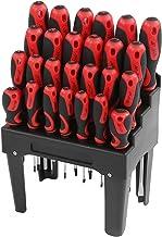 Conjunto de chave de fenda multifuncional simples de usar, kit de chave de fenda multifuncional de alça antiderrapante, pa...