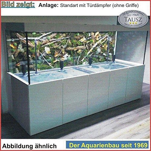 TAB Aquarienanlage FreshLine ECO-Plus 500Lmit Weisglas für Süßwasser
