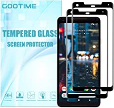 (9H Hardness) Gootime Screen Protector for Google Pixel 2 XL [3D Full Coverage] Pixel 2XL Tempered Glass Screen Protector [Bubble Free] Pixel 2XL Curved Screen Saver