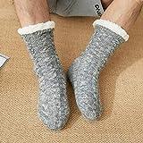 ZapatillascasaZapatillas De Casa para Hombre Zapatillas De Dormitorio Suaves para Adultos para Hombre Zapatillas Cálidas para Hombre En Casa 8.5 Gris