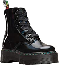 Dr.Martens Womens Molly Rainbow Leather Boots