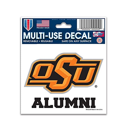 best loved adc9d a33b7 Wincraft NCAA Oklahoma State University 70230091 Multi-Use Decal, ...