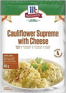 McCormick Cauliflower Supreme with Cheese Recipe Base 40 g, 40 g