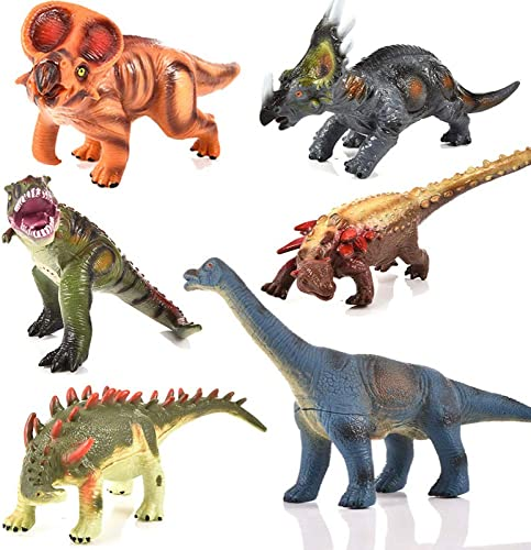 se descuenta GIKMHYB GIKMHYB GIKMHYB Juguete De Dinosaurio para Niños Simulación De Plástico Modelo Rompecabezas De Educación Temprana Sonido Dinosaurio Regalo  echa un vistazo a los más baratos