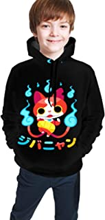 maichengxuan Yo-Kai Watch Novelty Youth Hoodie Sweatshirts Trend para Adolescentes