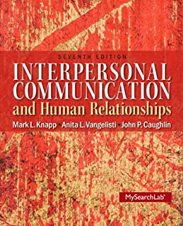 MySearchLab with Pearson eText -- Standalone Access Card -- for Interpersonal Communication & Human Relationships (7th Edition)