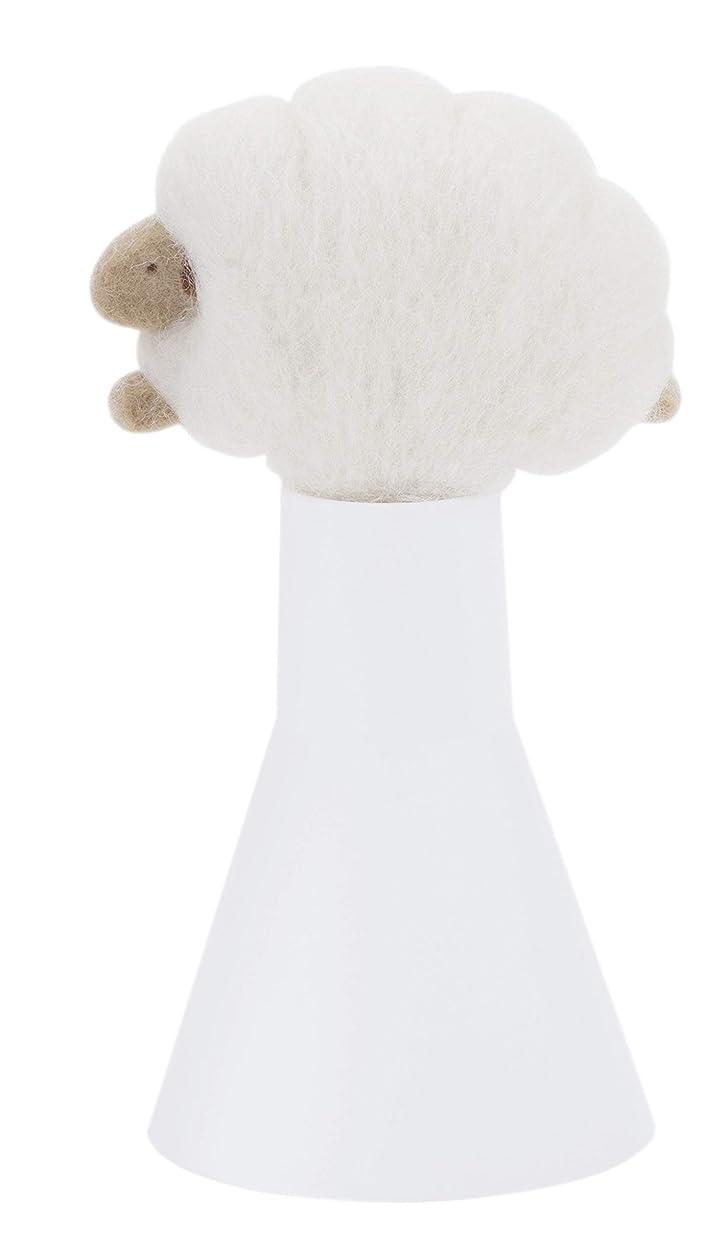 若い歌手デンマークSLEEP sheep アロボックル アイボリー
