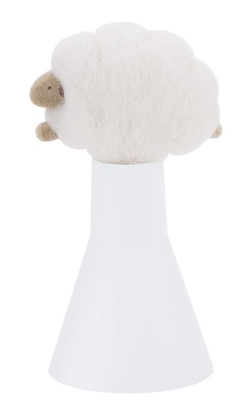 スカイ敵対的謝罪するSLEEP sheep アロボックル アイボリー