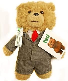 """★日本国内未発売商品 Ted in Suit 8"""" Plush Toy with Sound テッド おしゃべり ぬいぐるみ 16インチ☆スーツ姿 【米国より並行輸入】"""