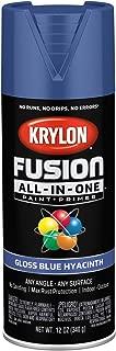 Krylon K02703007 Fusion All-in-One Spray Paint, Blue Hyacinth