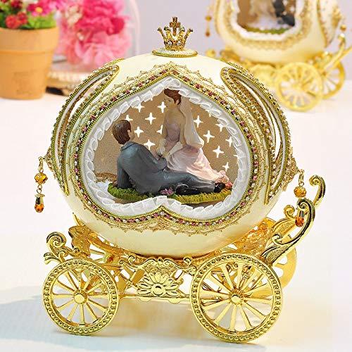 Music Box Music Box Music Box Modieuze Verjaardag Christmas Gift romantische Verjaardagscadeau kerstcadeau doos trouwdag QPLNTCQ (Color : 02, Size : Castle in the Sky)