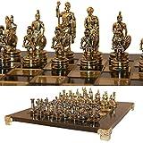 Uber Greek Roman Chess Set