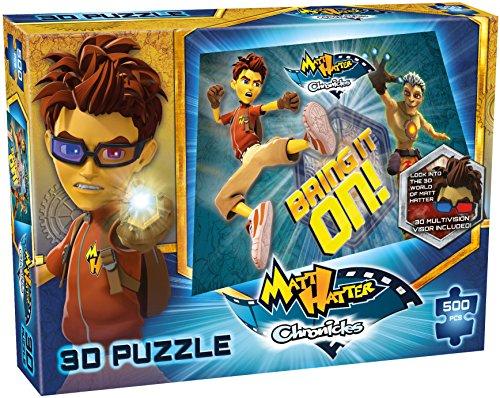 Matt chapelier 500 Piece Puzzle 3D - Bring It On