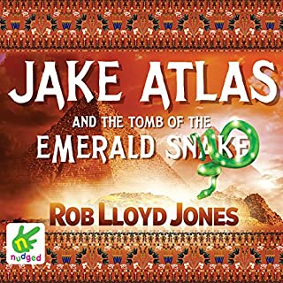 Jake Atlas and the Tomb of the Emerald Snake cover art