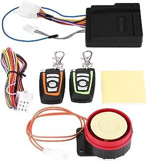 Motorcycle Alarm System, Anti-Theft Security Alarm, Remote Control Engine Start, 12V Universal, 125dB