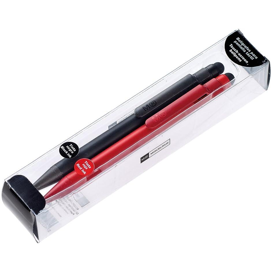 Miquelrius Candy Color Pens 2/Pkg-Black/Red