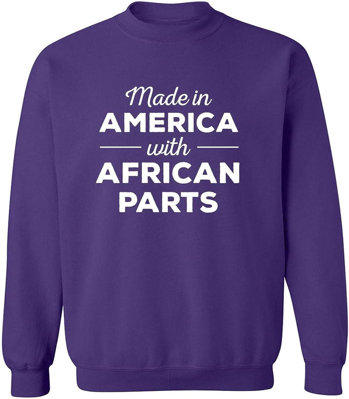 Made In America w/ African Parts Crewneck Sweatshirt
