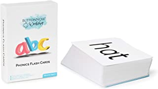 Phonics Flash Cards - Level 1 Introduction to Reading - Three letter words - Preschool flash cards - Early Reading for Mon...
