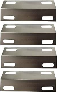 Hongso SPI351 (4-Pack) Stainless Steel Heat Plate for 4 Burner Ducane Affinity 4100 4200 4400, (15 3/8