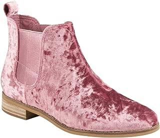 TOMS Women's Ella Suede Mid-Top Boot