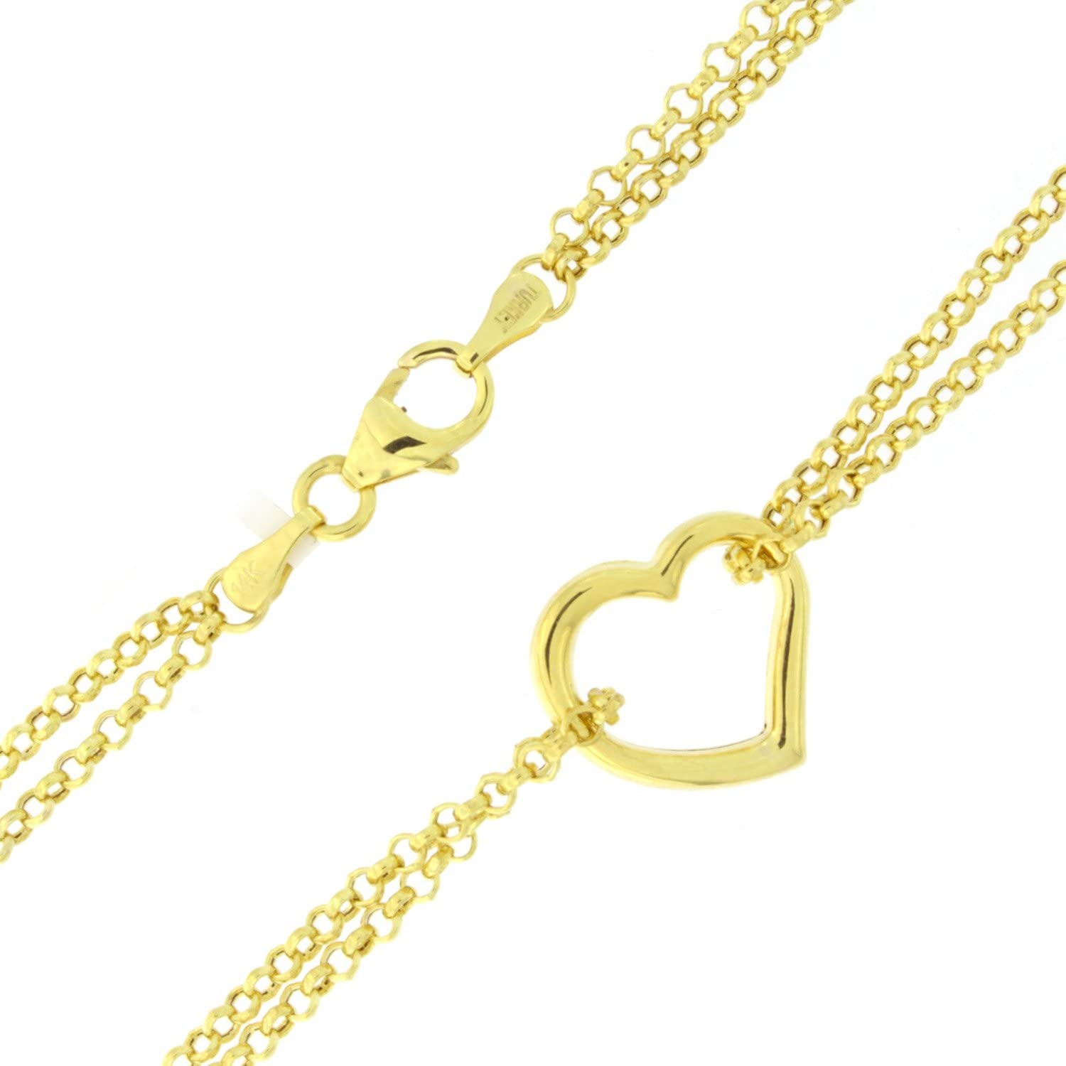 14k gold gold anklet 10 Beauniq 14k Yellow or White Gold 4mm Hammered Link Chain Anklet ankle bracelet link anklet beach jewelry
