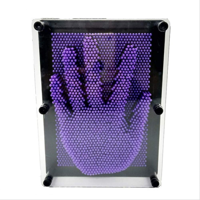 servicio honesto FANGQI Decoración Aguja Aguja Aguja Talla Mágica Estatua Molde Mesa Juguete Ornamentos L Púrpura  buena calidad