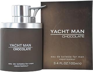 Myrurgia Yacht Man Chocolate for Men, 100 ml - EDT Spray