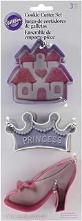 Wilton Princess Cookie Cutter Set, 3-Piece