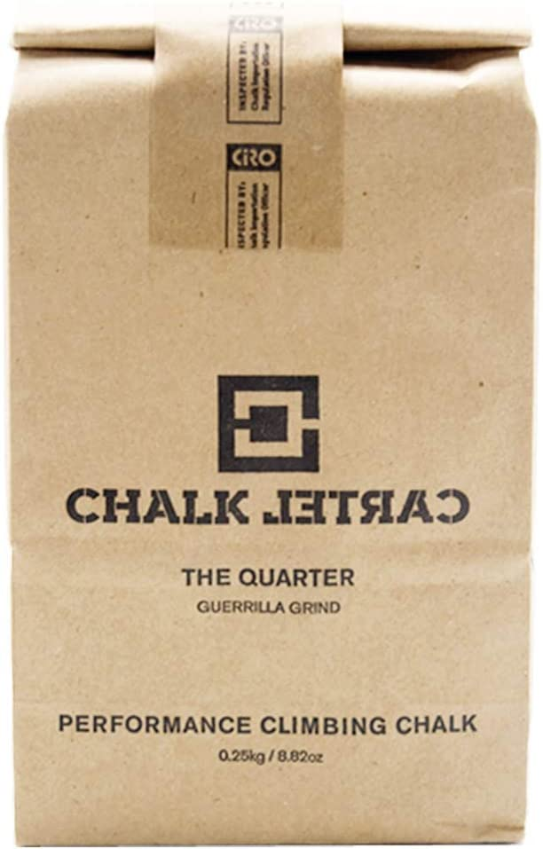 CHALK CARTEL Loose Climbing Seattle Mall OFFicial mail order Chalk 250g - 8.82oz The Quarter