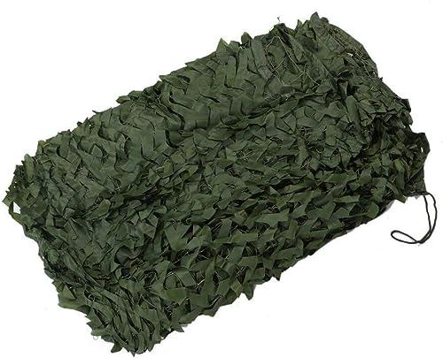 Filet Camo Visière Extérieure GR Jungle Camouflage Net Parapluie Sunscreen Net Cover Résistant à La Poussière Camping Maison Décoration Sports De Plein Air Multi-taille En Option (Taille  4  5m) Armé