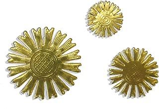 Kunze 50-Piece Dresden Celestial Halo Assortment, Gold