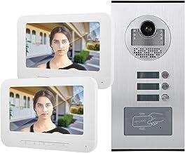 7in Home Video Doorbell RFID Camera Intercom Video Doorbell Home Security System